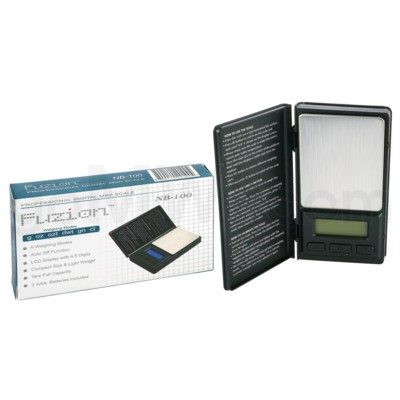 Fuzion NB-650 650g 0.1g Notebook Scales