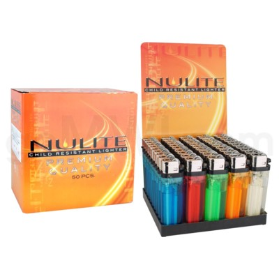 Lighter Disposable 50CT/BX Nulite 20/cs