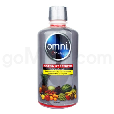 Omni Purified Fruit Punch Flavor 32oz