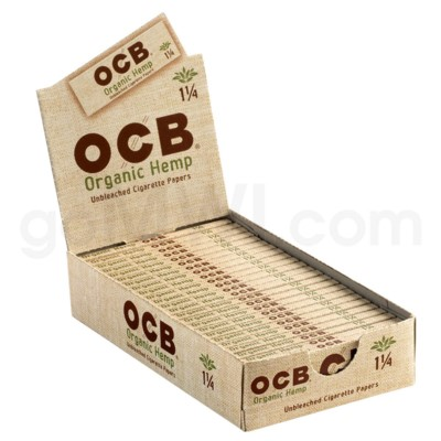 OCB Organic Rolling Papers 1 1/4