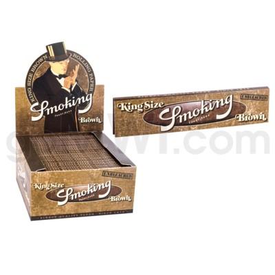 Smoking Brown King Size Roling Paper 32/pk  50ct/bx