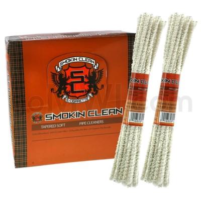 Smokin Clean Pipe Cleaner Soft Bristle 24CT/BX