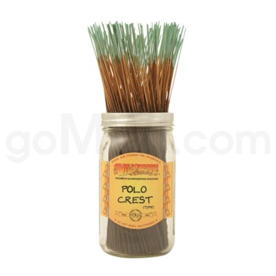 Wildberry Incense Polo Crest 100/ct