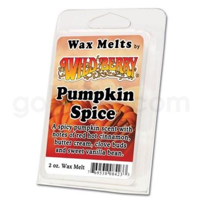 Wildberry Incense Wild Pumpkin Spice Wax Melt