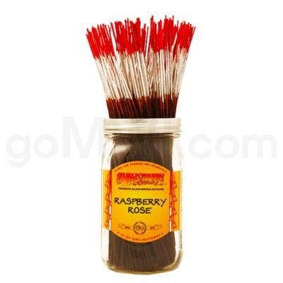 Wildberry Incense Raspberry Rose 100/ct