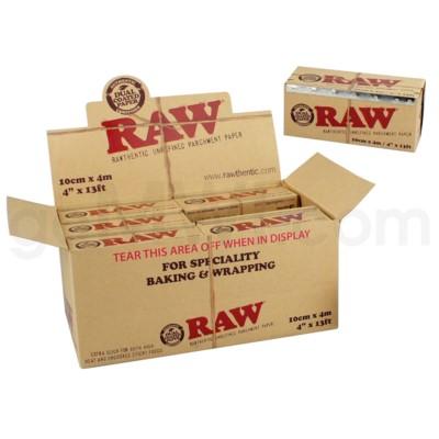 Raw Parchment Paper 100mm x 4m 12/bx