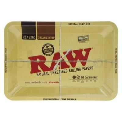 RAW Rolling Tray Metal - Mini 5x7in
