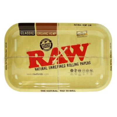 RAW Rolling Tray Metal - Small 11x7in