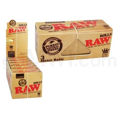 Raw Classic King Size 3M Supernatural Rolls 12CT