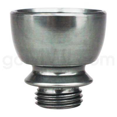 DISC Pipe Regular Metal Bowl Nickel Grey