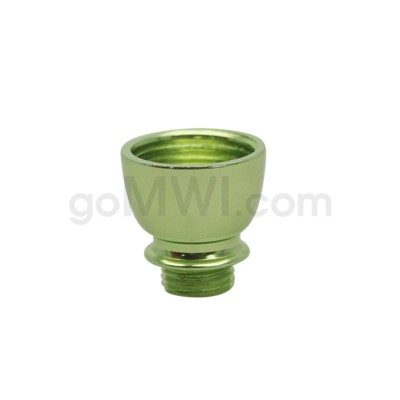 DISC Pipe Regular Metal Bowl Nickel Green
