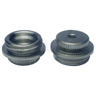 Pipe Nickel regular metal top with hole