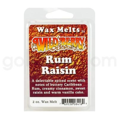 Wildberry Incense Rum Raisin Wax Melts