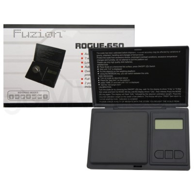 Fuzion Rogue-650 650g x 0.1g Scales