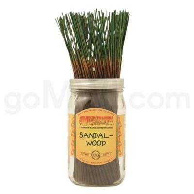 Wildberry Incense Sandalwood 100/ct