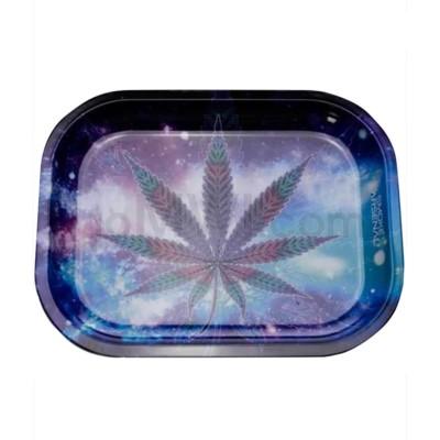 Smoke Arsenal 5x7in Mini Rolling Tray- Blueberry Kush