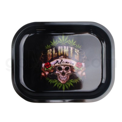Smoke Arsenal 5x7in Mini Rolling Tray- Blunt and Roses
