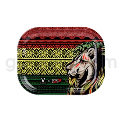 V Syndicate 5x7in Mini Rolling Tray- First Earth Lion