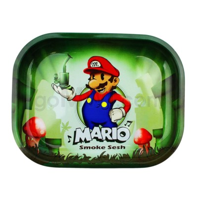 V Syndicate 5x7in Mini Rolling Tray- Mario