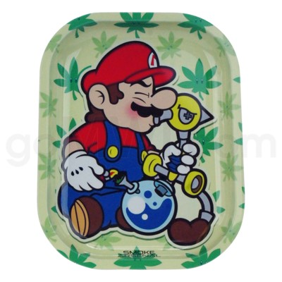 Smoke Arsenal 5x7in Mini Rolling Tray-Mario