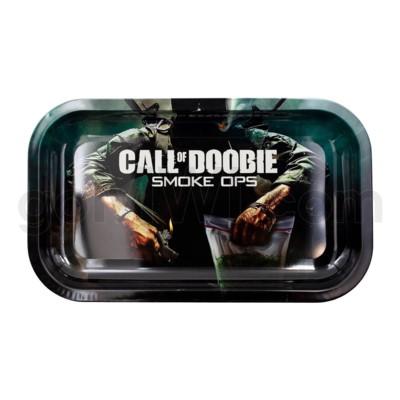 V Syndicate 11x7in Medium Rolling Tray- Call of Doobie