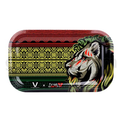 V Syndicate 11x7in Medium Rolling Tray- First Earth Lion
