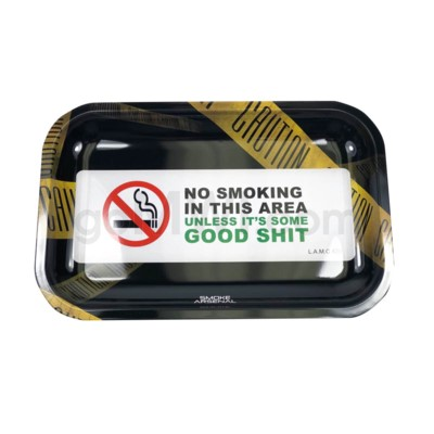 Smoke Arsenal 11x7in Medium Rolling Tray- Good Stuff