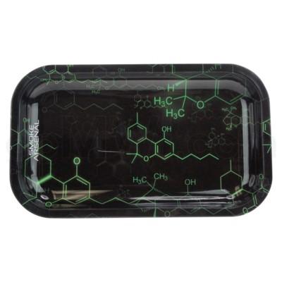 Smoke Arsenal 11x7in Medium Rolling Tray-Molecule
