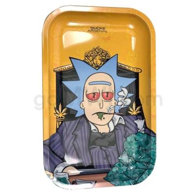Smoke Arsenal 11x7in Medium Rolling Tray- The Rickfather
