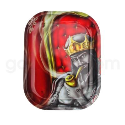 V Syndicate 11x7in Medium Rolling Tray- Royal Highness Kin