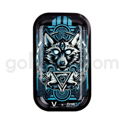 V Syndicate 11x7in Medium Rolling Tray- Wolf First Earth
