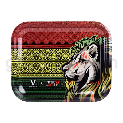V Syndicate 13x11 in Large Rolling Tray- First Earth Lion