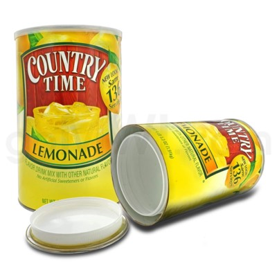Safe Can X-LG Country Time Lemonade