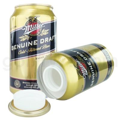 Safe Can Miller Genuine Draft Beer Can