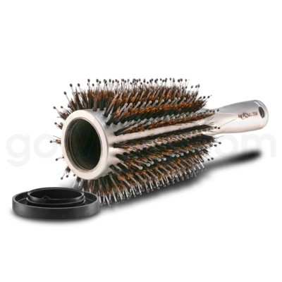 Safe Can Hair Brush Royal 304 - Silver
