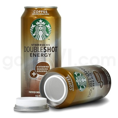 Safe Can Starbucks Double Shot Coffee