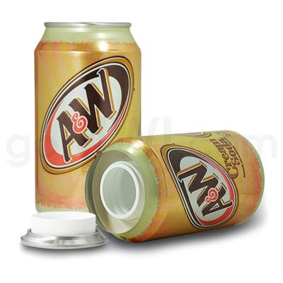 Safe Can A & W Cream Soda Can