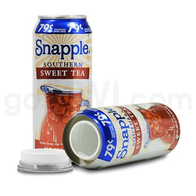 Safe Can Snapple Southern Iced Tea