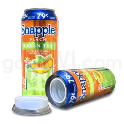 Safe Can Snapple Peach Green Tea