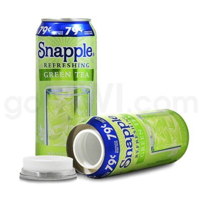 Safe Can Snapple Green Tea