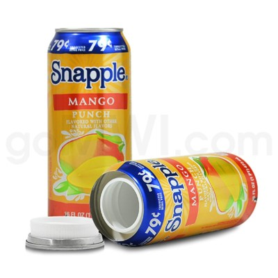 Safe Can Snapple Mango Punch