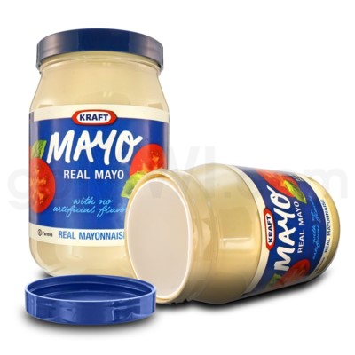Safe Can Kraft Mayo