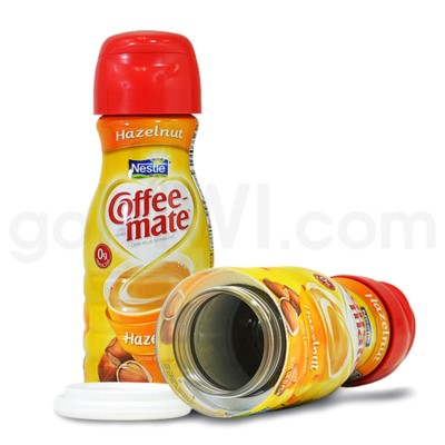 Safe Can Coffee Mate Hazelnut Liquid Creamer