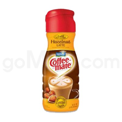 Safe Can Coffee Mate Hazelnut Latte Liquid Creamer