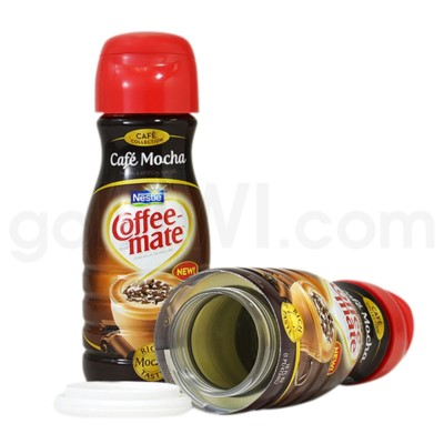 Safe Can Coffee Mate Café Mocha Liquid Creamer