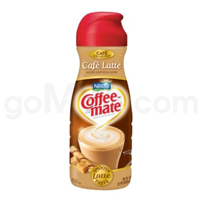 Safe Can Coffee Mate Café Latte Liquid Creamer