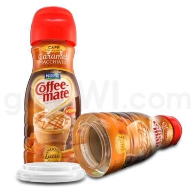 Safe Can Coffee Mate Caramel Macchiato Latte Liquid Creamer