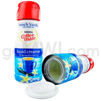 Safe Can Coffee Mate French Vanilla Liquid Creamer
