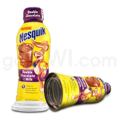 Safe Can Nesquik - Double Chocolate Milk