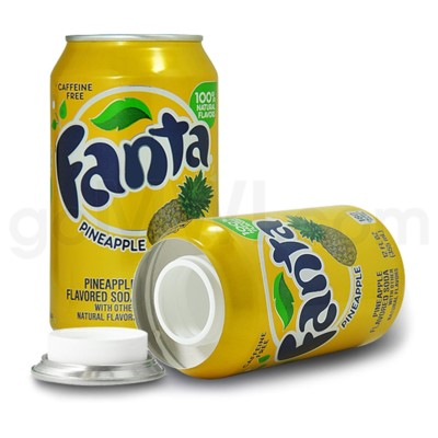 Safe Can Fanta Pineapple